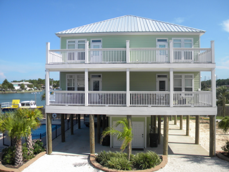 Dauphin Island Vacation Rentals with Boat Slips and Pool