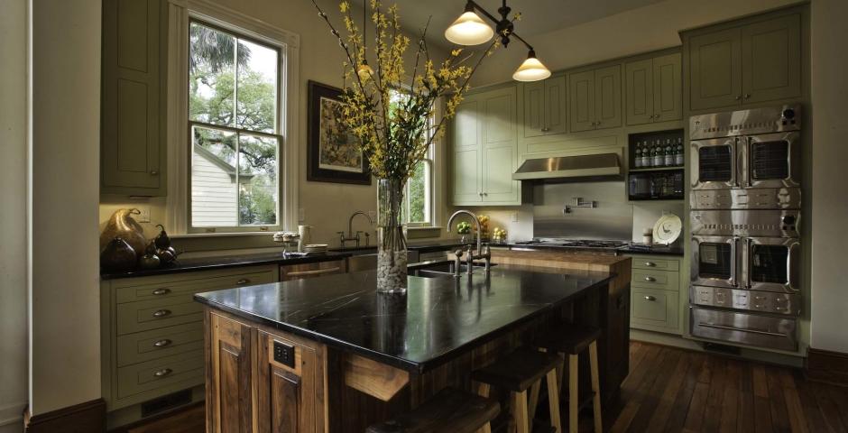 Enjoy the gourmet kitchen in The Whitman on Forsyth Park